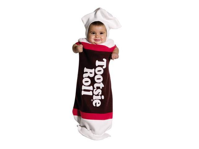 Tootsie Roll Baby Costume 3-9 Months