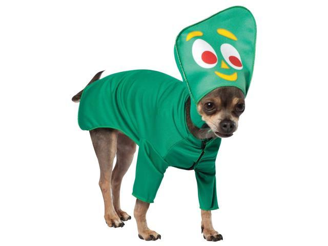 Gumby Pet Dog Costume Large