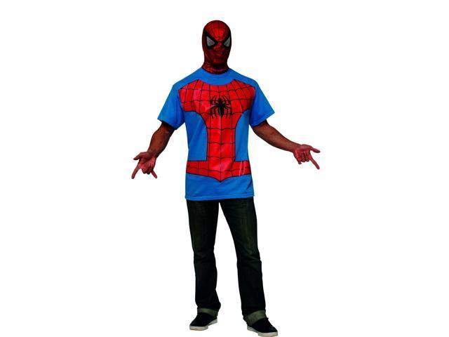 Marvel Spider-Man T-Shirt Adult Costume Large