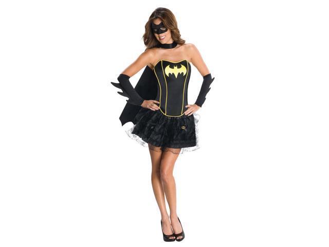 Batgirl Sexy Corset Dress Costume Adult X-Small 0-2