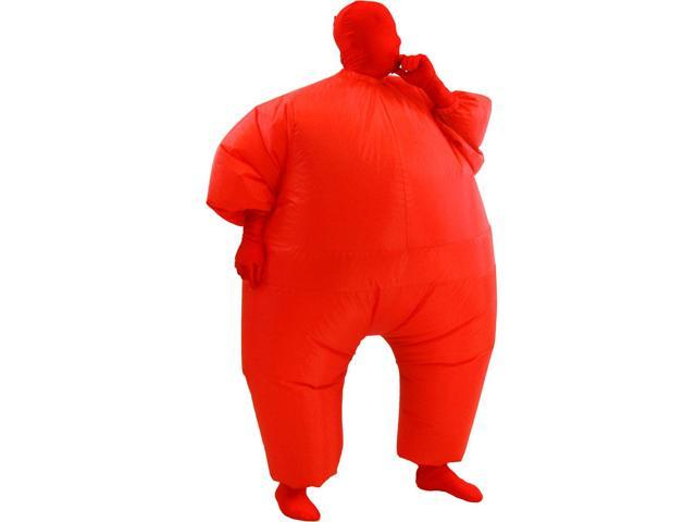 Inflatable Chub Suit Costume: Red One Size Fits Most