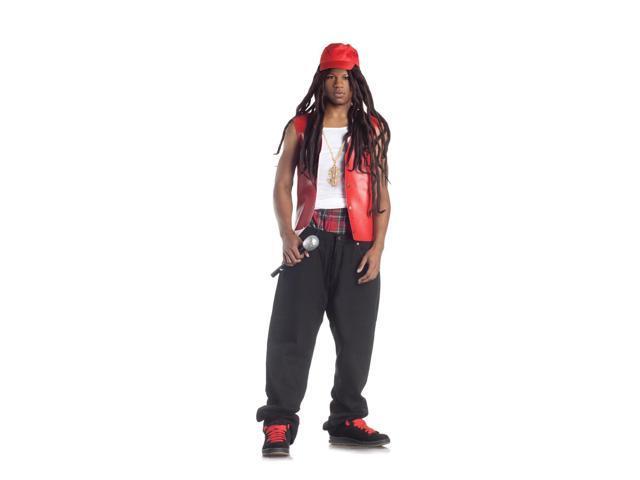 Bling Bling Rapper Costume Adult Small/Medium