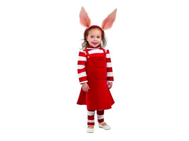 Olivia the Pig Delue Costume Child Toddler 2T-4T