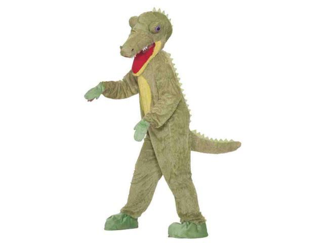 Story Book Crocodile Plush Adult Costume One Size Fits Most