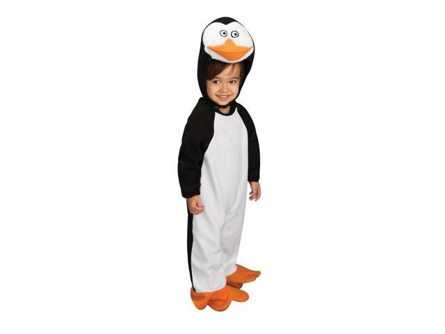 Penguins Of Madagascar Penguin Romper Private Costume 0-6 Months