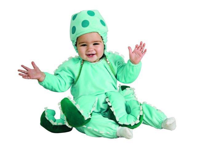 Ocean Octopus Jumpsuit Baby Costume 0-6 Months