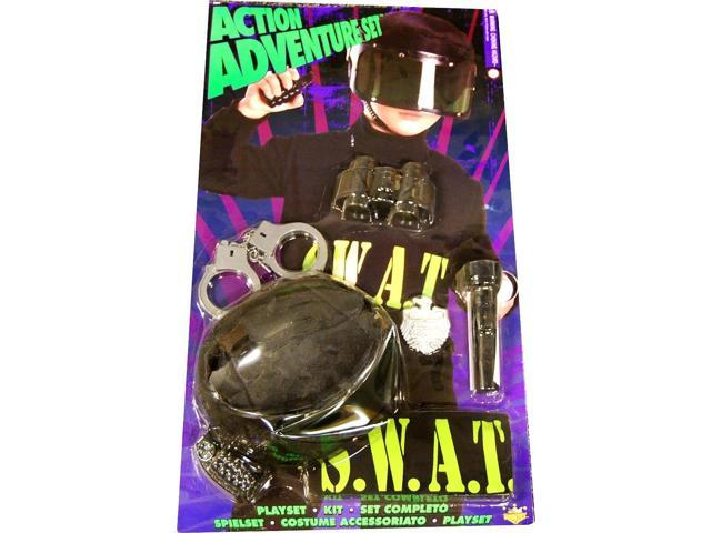 Action Adventure Swat Blister Child Costume Set One Size