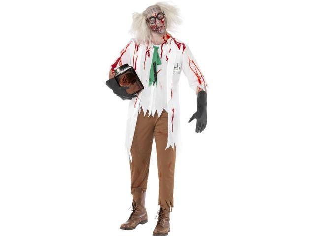High School Horror Zombie Science Teacher Costume Adult Large