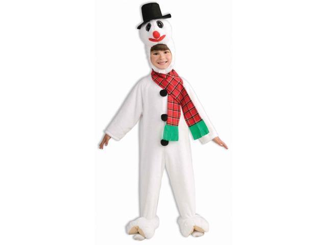 Snowman Mascot Costume Child Small
