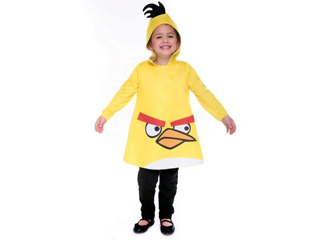 Angry Birds Yellow Bird Child Toddler Costume 2T