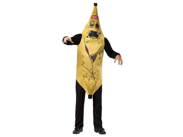 Zombie Banana Adult Costume One Size Fits Most