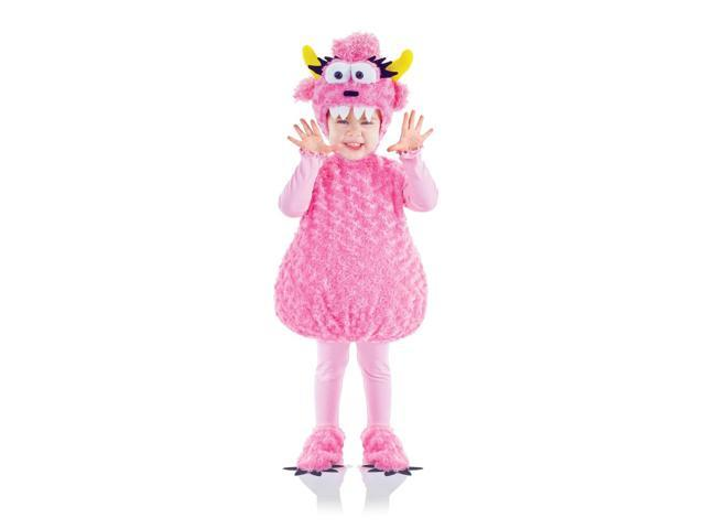 Belly Babies Pink Monster Costume Child Toddler X-Large 4-6