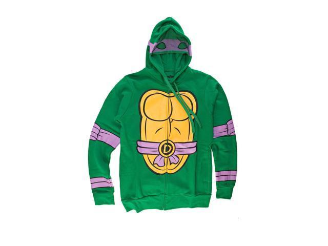 I Am Donatello Teenage Mutant Ninja Turtles Zip Zip Up Hoodie X-Large