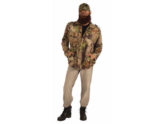 Duck Hunter Costume Camouflage Jacket Adult One Size Fits Most