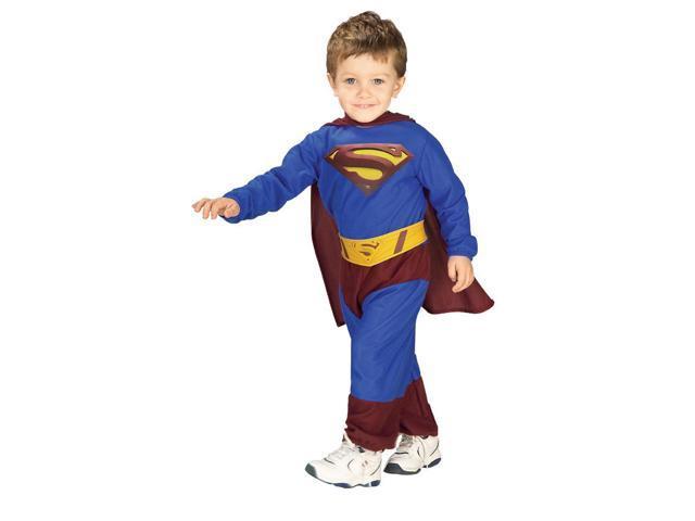 Superman Costume Child 6-12 Months