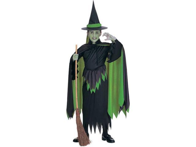 Wizard Of Oz Wicked Witch Child Costume Large