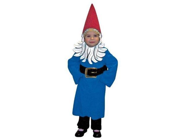 Travelocity Roaming Gnome Costume Child Toddler Toddler 3-4T