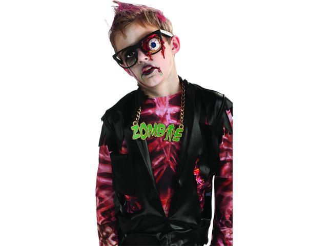 Zombie Prosthetic Eyeball Glasses Costume Accessory Child One Size