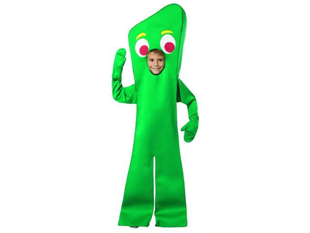 Gumby Open Face Costume Child Child 7-10