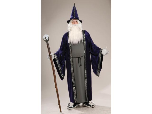Wizard Adult Plus Costume Plus Size