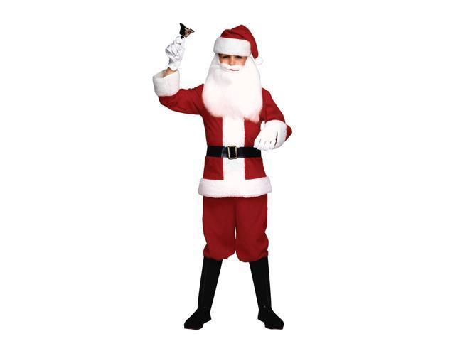 Santa Claus Boy Costume Child Medium