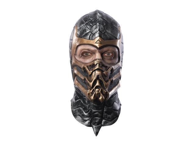 Mortal Kombat Scorpion Deluxe Overhead Costume Latex Mask Adult
