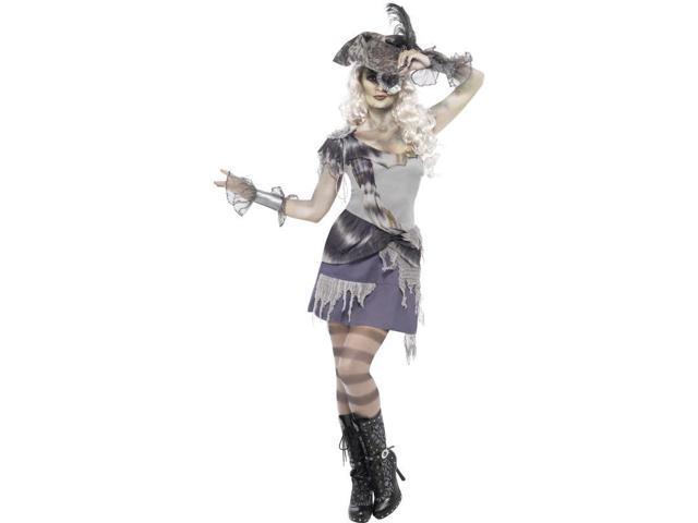 Madame Voyage Pirate Adult Costume Dress Small