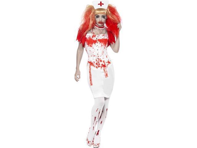 Blood Drip Nurse Adult Costume Medium