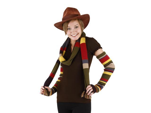Doctor Who The 4th Doctor Costume Hat Brown Adult One Size