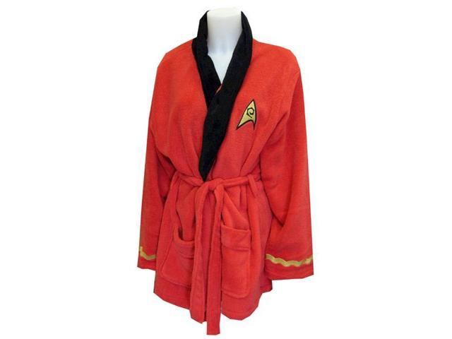 Star Trek Original Series Uhura Fleece Adult Bathrobe One Size Fits Most