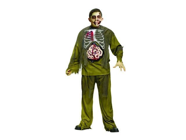 Bleeding Chest Zombie Costume Child Medium 8-10