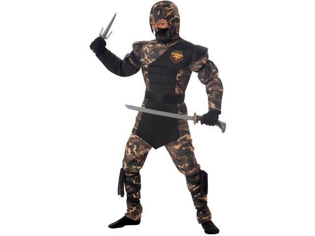 Special Ops Ninja Costume Child Medium
