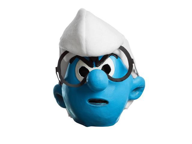 The Smurfs 2 Brainy Smurf Costume Mask Child One Size