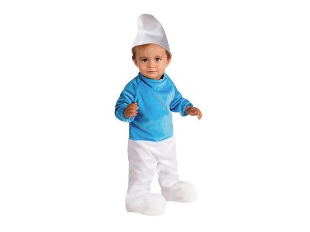 Smurfs Costume Romper Infant Toddler 6-12 Months