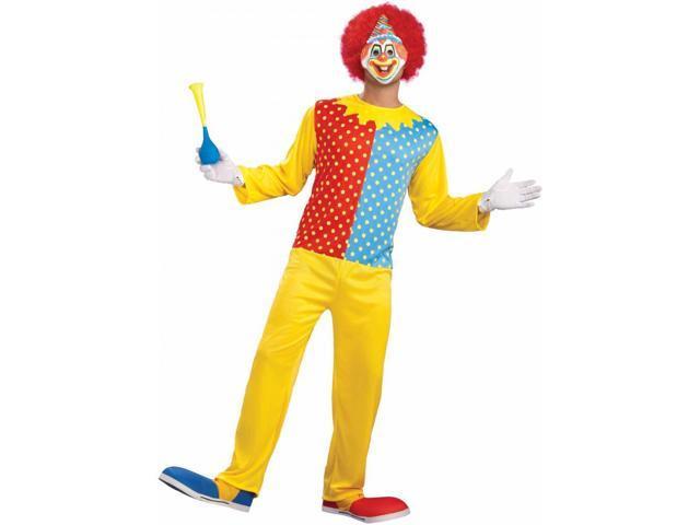 Retro Classic Clown Costume Adult Standard