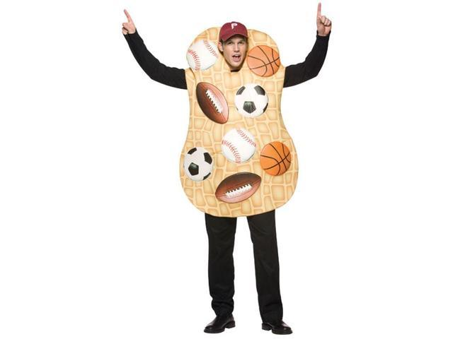 Sports Nut Costume Tunic Adult One Size Fits Most