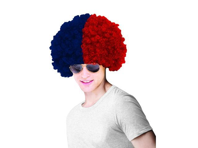 St. Louis Cardinals Costume Wig Adult One Size Fits Most
