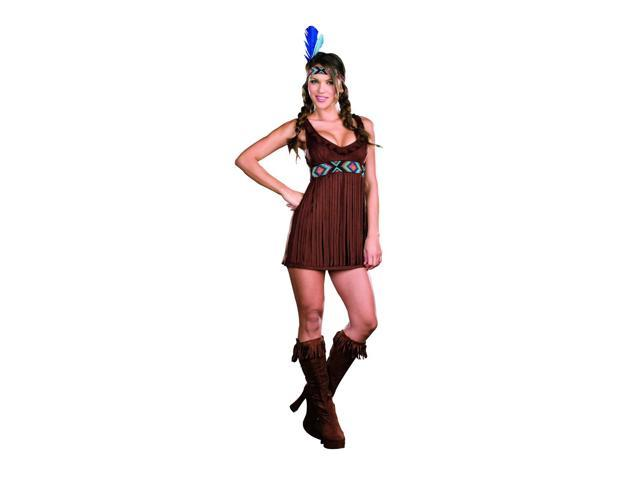 Sexy Tribal Trouble Native American Costume Adult Large
