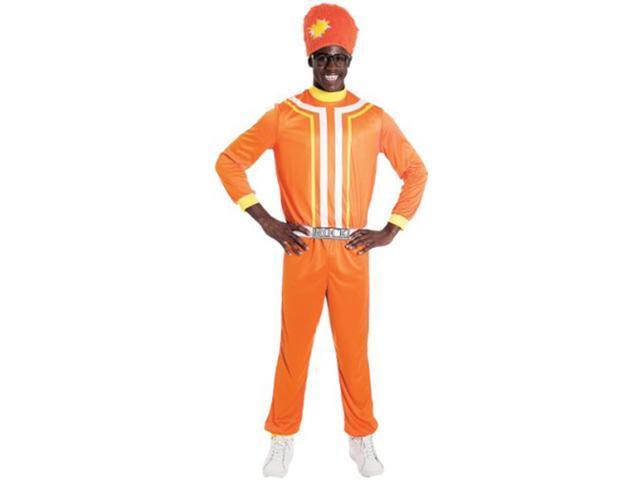 Yo Gabba Gabba! Dj Lance Rock Costume Adult Small