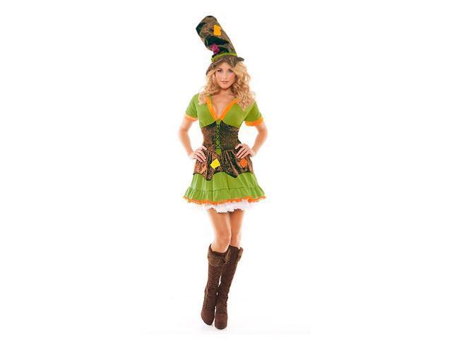 Racy Ragamuffin Costume Dress Adult X-Large 14-16