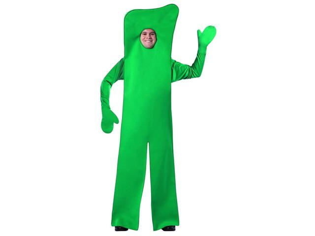Gumby Open Face Costume Jumpsuit Adult One Size Fits Most
