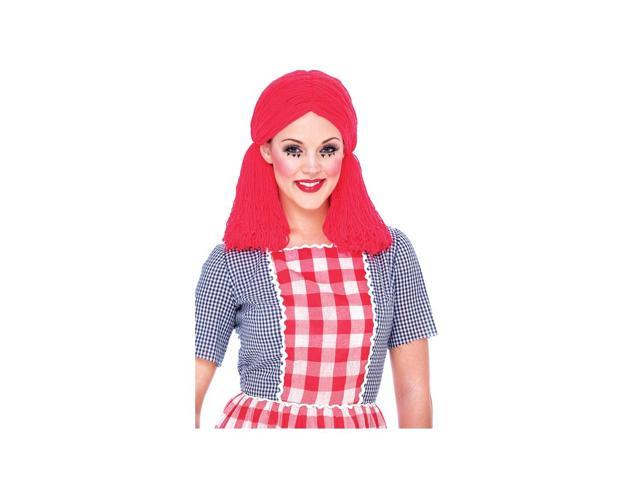 Rag Doll Adult Costume Wig One Size