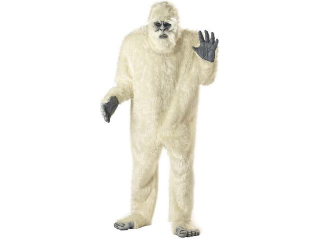 Abominable Snowman Costume Adult Standard
