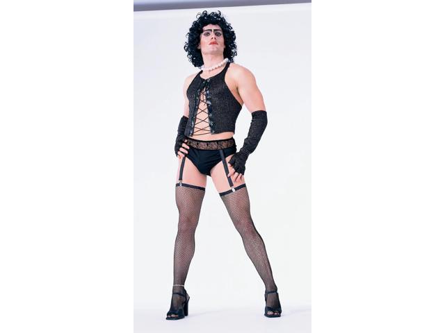 Rocky Horror Black Frank N' Furter Costume Adult Large/X-Large