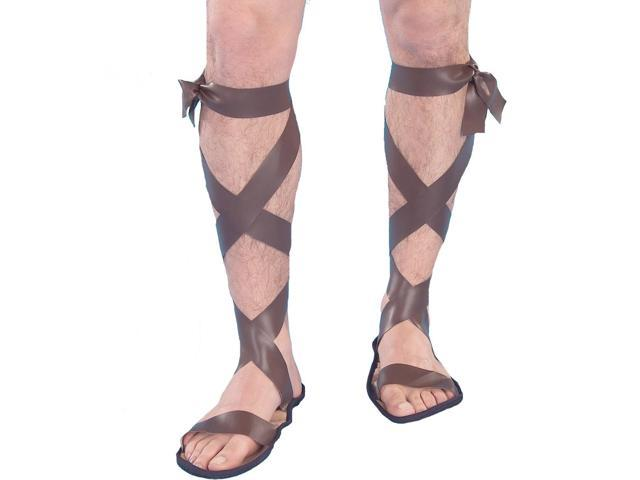 Roman Gladiator Costume Sandals Adult One Size Fits Most
