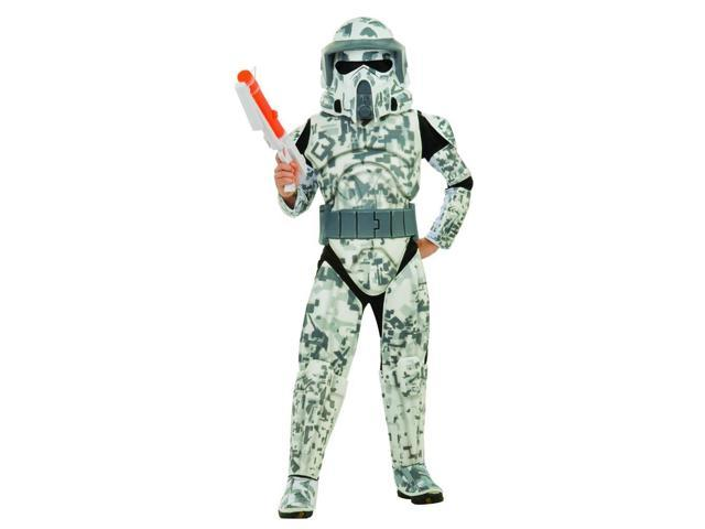 Star Wars Clone Wars Season 3 Deluxe Arf Trooper Costume Child Small