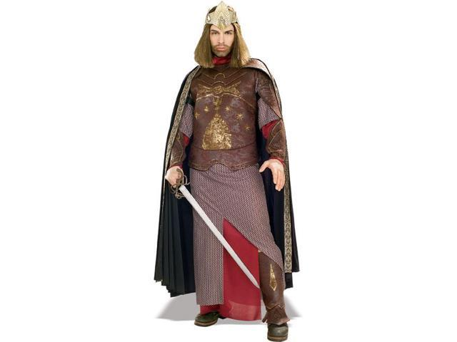 Lord Of The Rings Dlx Aragorn King Of Gondor Adult Costume Standard