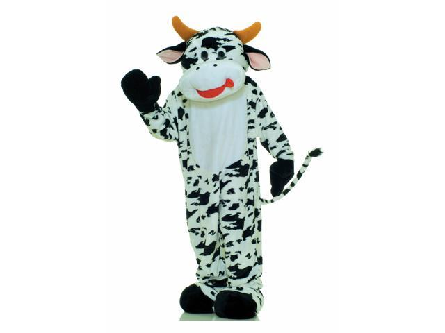 Deluxe Cow Mascot Adult Costume Standard