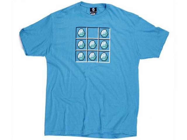 Minecraft Diamond Crafting Premium Men's T-Shirt XX-Large