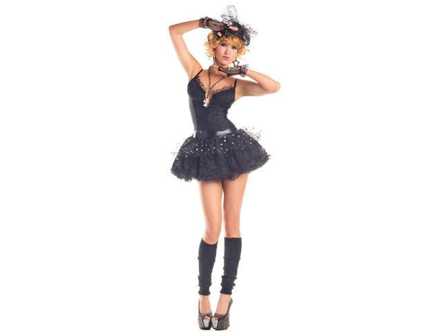Sexy Material Pop Star Costume Adult Large
